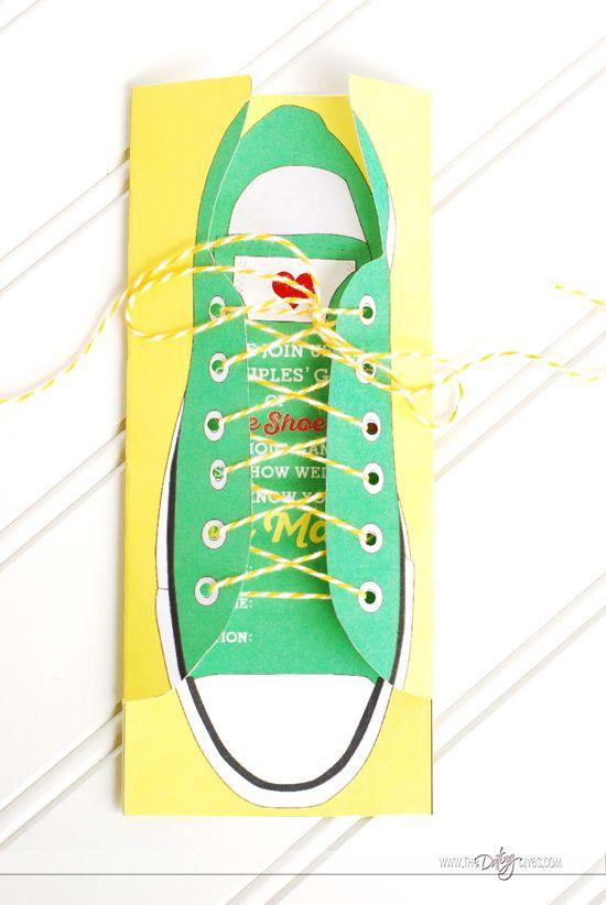 Tennis Shoe Pinata
