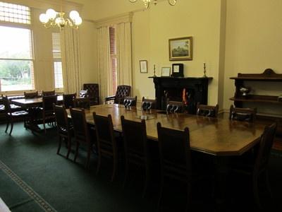 Urrbrae House dining room, Urrbrae, Adelaide, SA