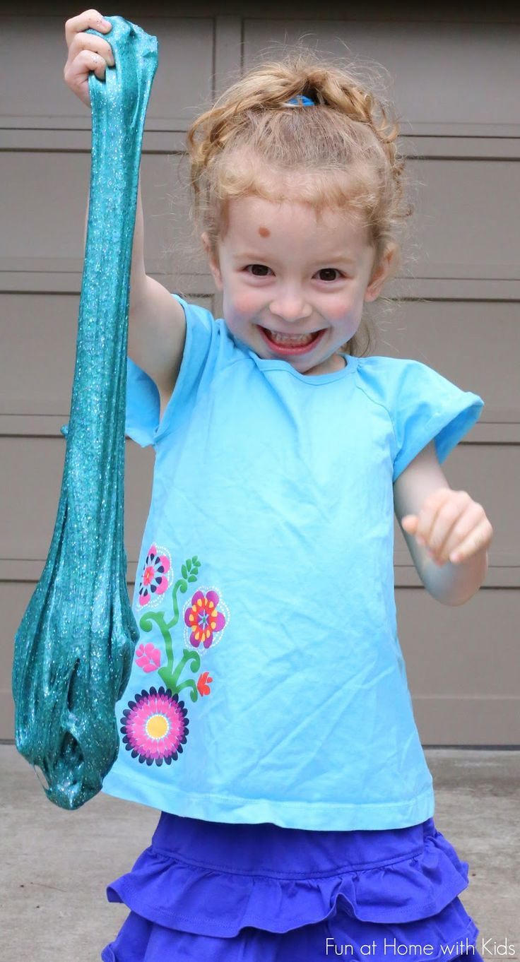How To Make Slime Using Laundry Detergent! You Can Find The Necessary  Ingredients In The