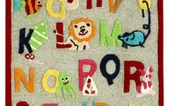 Kids Abc Rug Contemporary Kids Rugs