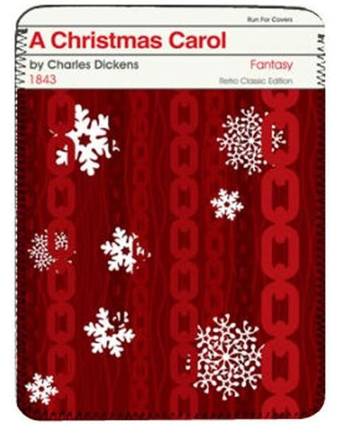 """A gorgeous iPad cover featuring the striking cover art for the """"Penguin Modern Classics"""" edition of A Christmas Carol. Fits original iPad or tablets sized appr"""