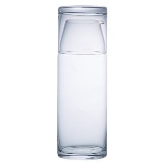 I usually keep a glass of water on my nightstand. I've been