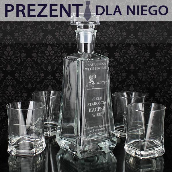 A może coś na poprawę humoru? Zestaw karafka ze szklankami sprawdzi się dla każdego kto jest koneserem dobrych trunków.  http://bit.ly/1iv7Rn9