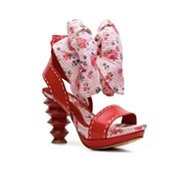 Irregular Choice Fabric Footwear  - Sorry, I couldn't resist:)Ugliest Shoes, Footwear Sandals, Choice Fabrics, Crazy Shoes, Fabrics Footwear, Woman Shoes, Women Shoes, Platform Sandals, Irregular Choice