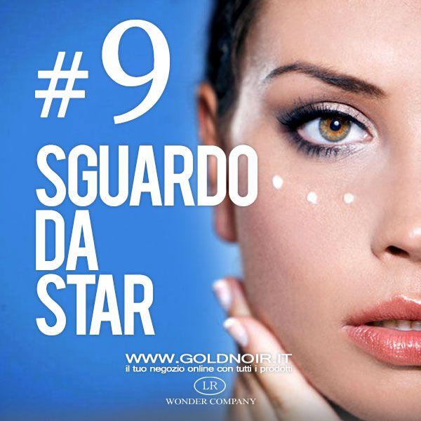Regola di bellezza #9 come applicare il contorno occhi... per uno sguardo da star! www.goldnoir.it/crema-veleno-api-lr-wonder-company.asp?ogtit=Come+applicare+la+crema+contorno+occhi&pagina=dettaglioblog&blog=61