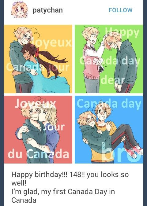 Yay! My cousin has the same birthday as Canada so he usually gets to see fireworks in his bday