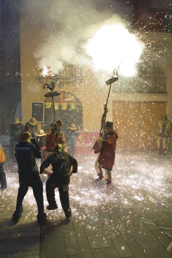 Festes de Santa Tecla Correfoc Tarragona Catalonia