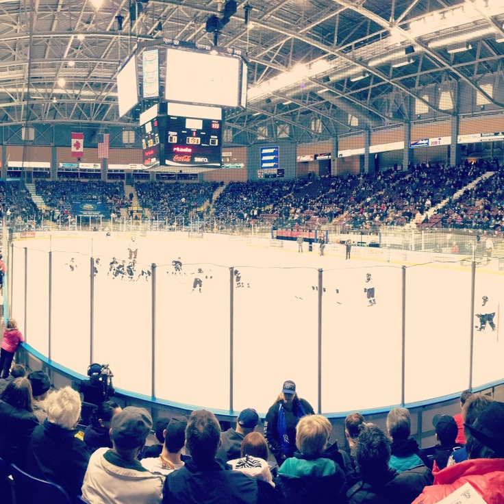 Royals hockey game.....no need for NHL I've got the WHL!