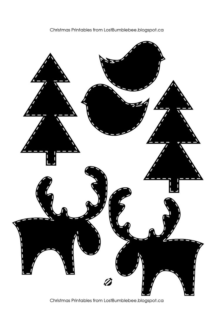 LostBumblebee 2013- Canadiana Christmas- Merry Christmoose- Free Printable