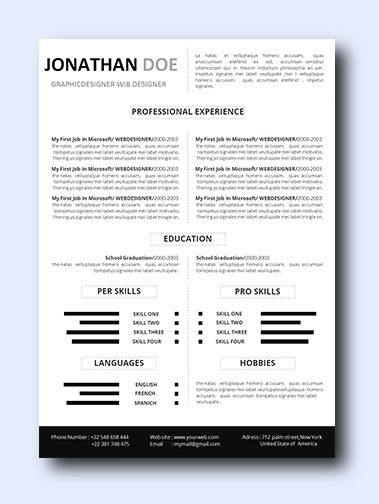 Simply Right | Even non-creative jobs can benefit from a modern resume as it highlights your creativity, which is a sought-after trait that employers look for and it adds a conservative amount of color and design while remaining professional and clean. Simply change the text to anything you would like. This letter can be highly customized to your personal experience and position.