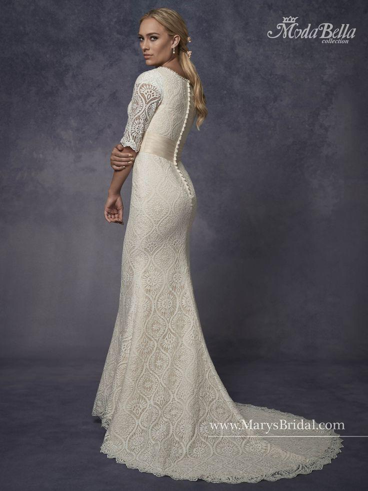Moda Bella Bridal   Style 3Y677 #tznius #modest   Modest (Tznius ...