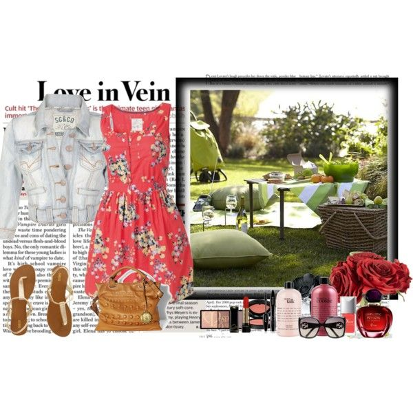 summer, created by luisarpo on Polyvore