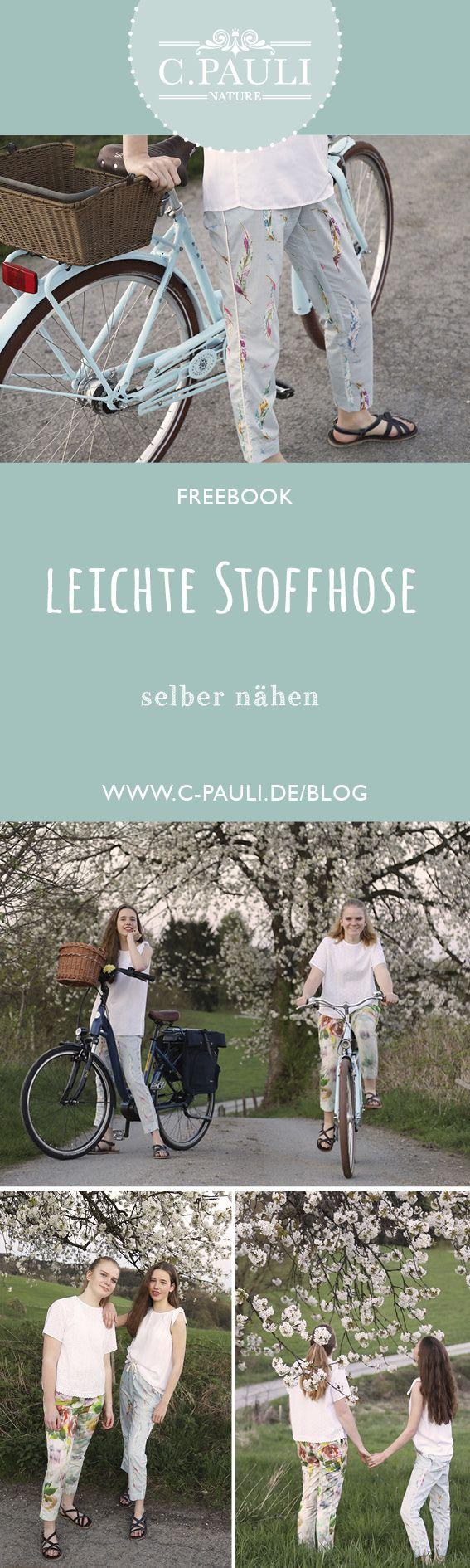 Leichte Stoffhose | C.Pauli Nature Blog – Sylvia T.