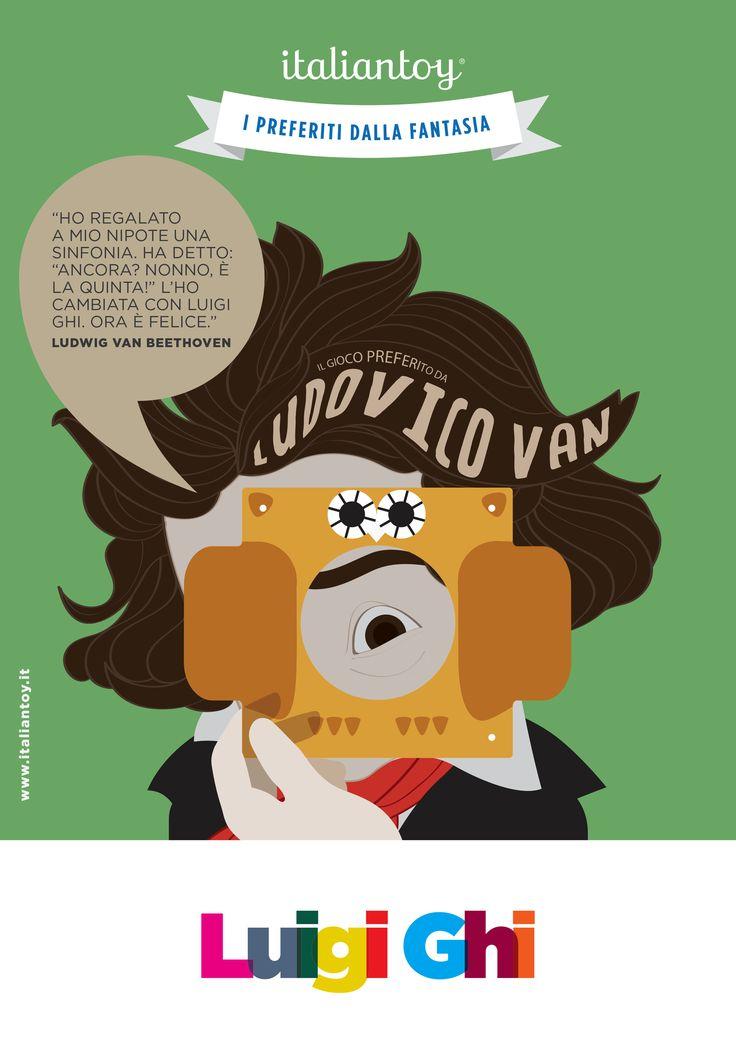 #italiantoy Luigi Ghi