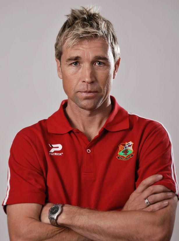 Former Cardiff City hero Andy Legg