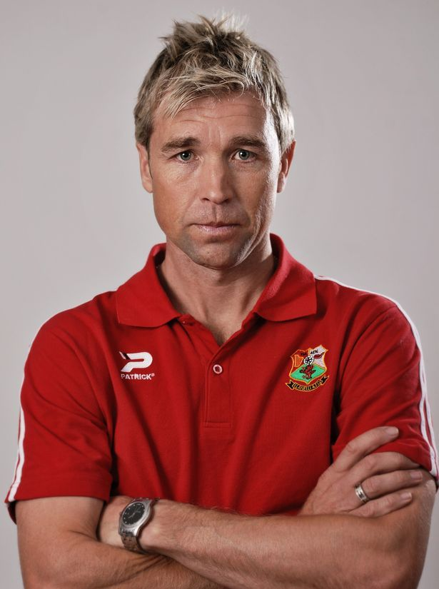 Former Cardiff City hero Andy Legg