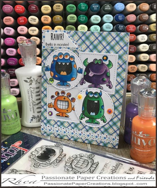 Your Next Stamp with Passionate Paper Creations and Friends