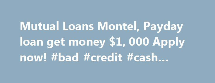 25+ best ideas about Bad credit cash loans on Pinterest