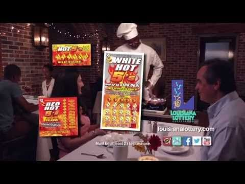 "Here is My Commercial... !!!  Watch ""Hot 5's Family of Scratch-Offs"" Louisiana Lottery Commercial I worked on a couple weeks ago. I'm in the middle series.  #LouisianaLotteryCorporation #Commercial #LouisianaLottery"