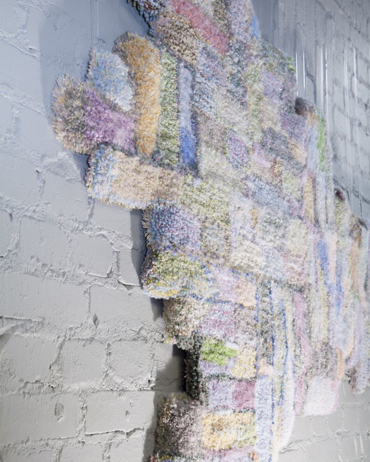 Tekstiili16 - Bricks in the wall by Sandra Wirtanen, photo credit Eeva Suorlahti, 2016