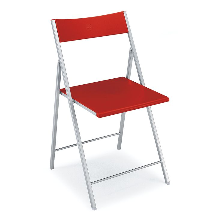 € 36,50 GRETA #sconto 50% #sedia in metallo e plastica, leggera, pieghevole, salvaspazio, in #offerta prezzo su www.chairsoutlet.com