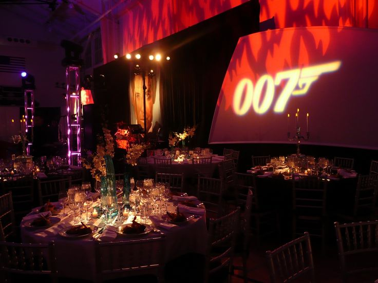 James bond 007 decor by eggsotic events wm james for 007 decoration ideas