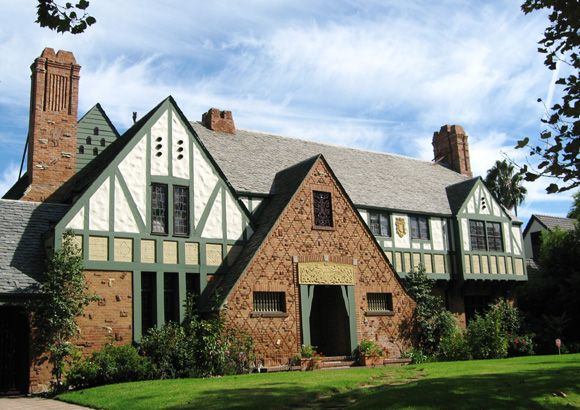 Tudor historic houses and english style on pinterest - Tudor revival exterior paint colors ...