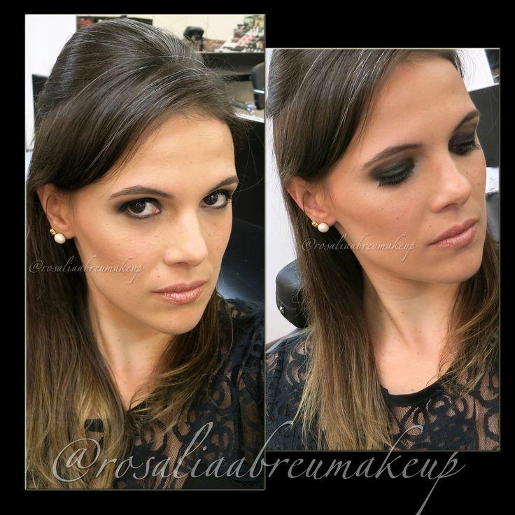 Uma proposta de maquiagem para festas! Maquiagem/Makeup: Rosália Abreu