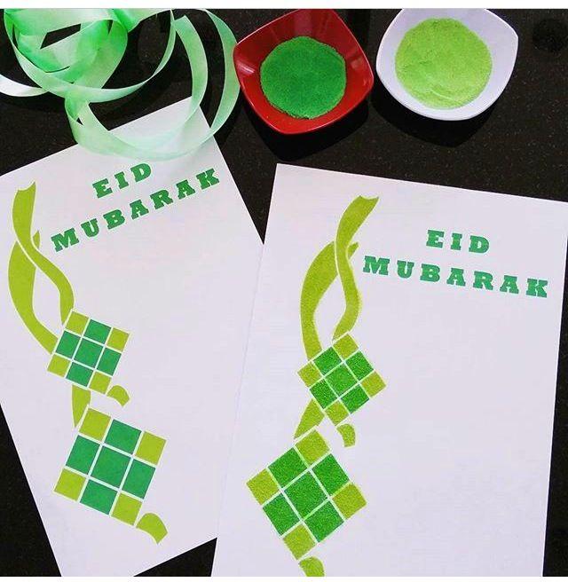 Ide Prakarya Hari Raya Eid Mubarak