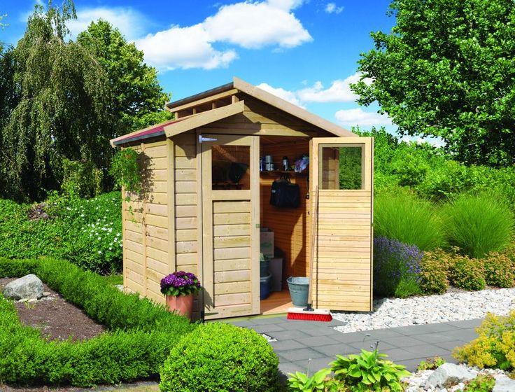 17 meilleures images propos de abris de jardin bois sur pinterest mad re ontario et b le for Abri de jardin naterial