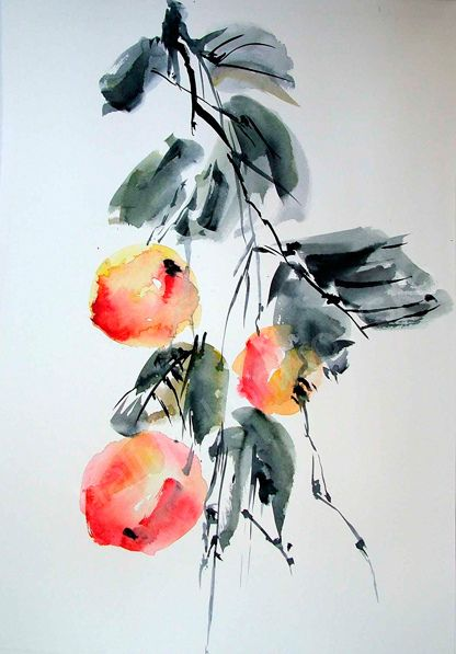 Japanese - watercolor picture for sale | Flickr - Photo Sharing!