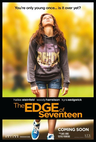 The Edge of Seventeen is a fantastic look at teenage awkwardness, drama, frustration and angst. Hailee Steinfeld does an incredible job of capturing the ever-changing emotions of a teenager. The script maintains a sense of humor while staying true to the adolescent voice .