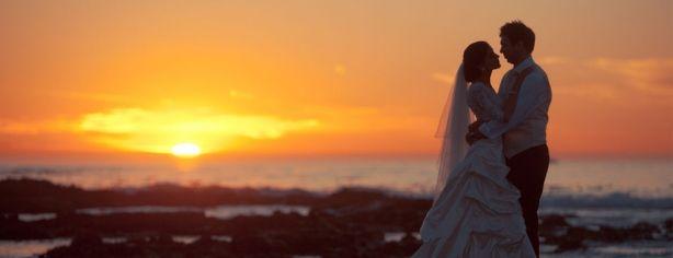 sunset #wedding couple photoshoot
