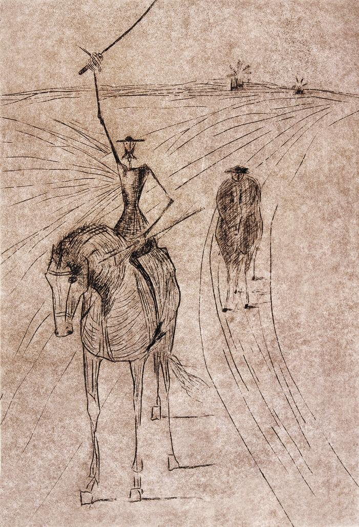 Dom Quixote - Candido Portinari
