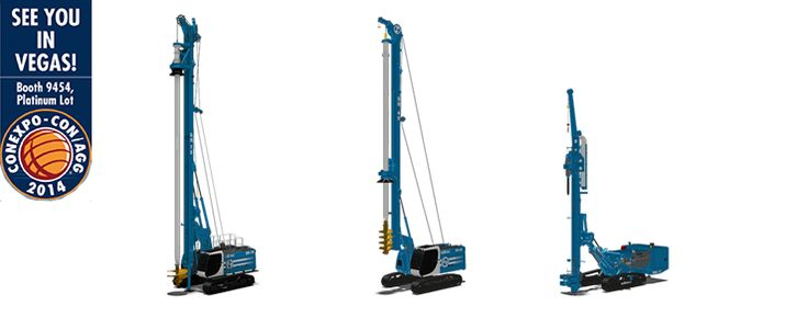 New SR Advance line and Microdrilling rigs on display at CONEXPO NEWS Soilmec
