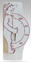 Sauna thermometer - man with stick $30.00