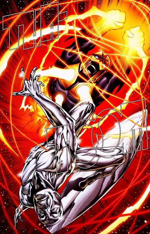 Silver Surfer vs Nova | * Comics: Marvel | Pinterest