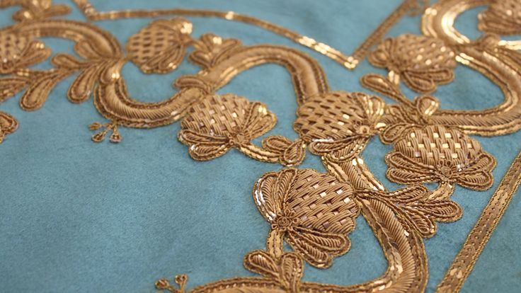 gold work embroidery