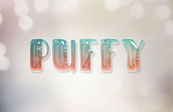How to Create a Glossy Puffy Text Effect in Adobe Photoshop Tutorials Glossy Graphic Design Photoshop Text Effect Tutorial Typography