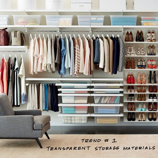 Organizing Closet Space 1014 best organizing | closet & no-closets images on pinterest