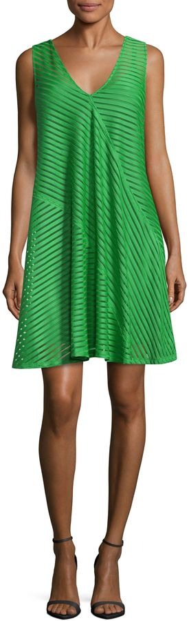 Tracy Reese Women's Directional Flared Tank Dress