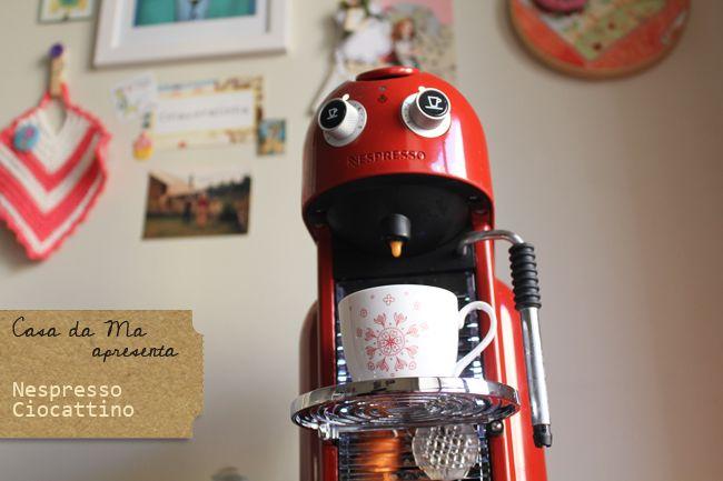 Colacorelinha por Ma Stump » Arquivos » Café de sábado especial: Ciocattino, novidade Nespresso.