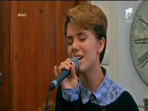 Xenia Chitoroagă își exprimă sentimentele prin muzică
