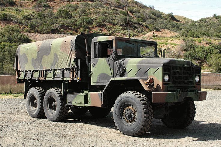 5 Ton 6x6 Military Cargo Trucks Pinterest