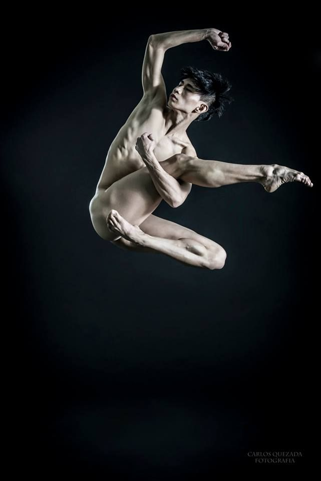 The Male Dance Project- Po-Ling Tung // Taiwanese Dancer. Tania Pérez Salas Dance Company México // Ballet Inc. Dance Company NYC. Taipei National University of the Arts // Gelsey Kirkland Academy. Fotografía Carlos Quezada
