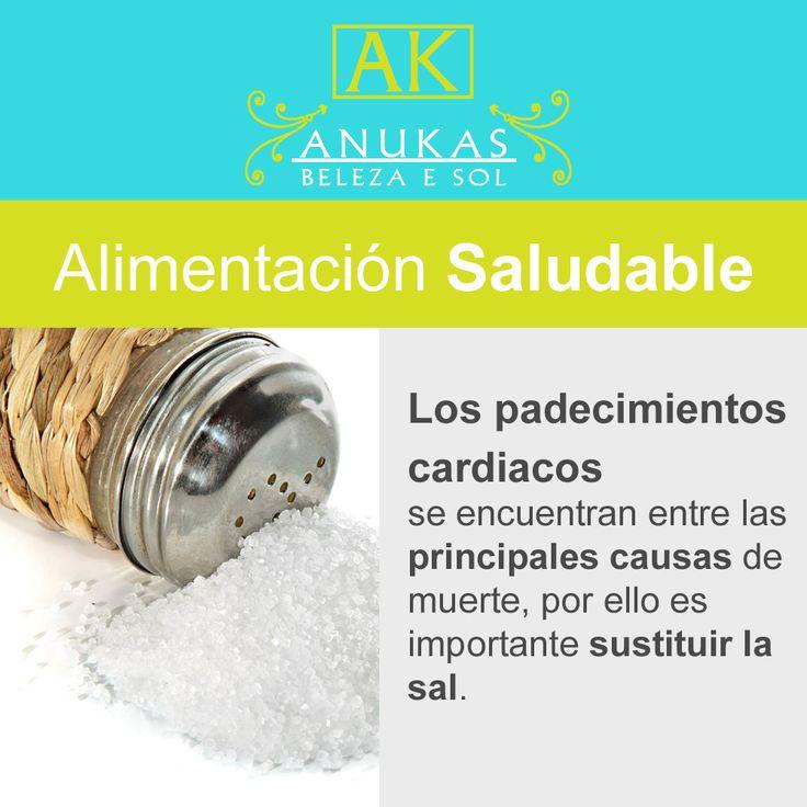 #Bienestar #Alimentación La sal puede causar la muerte.