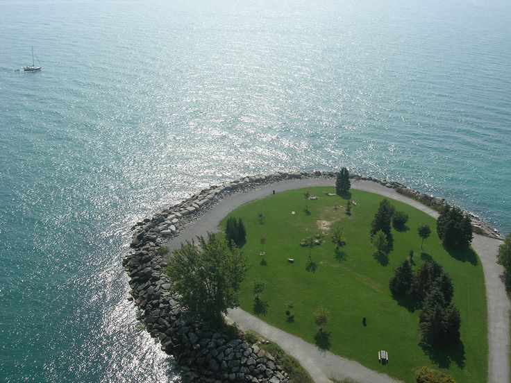 Bluffer's Park by Heather ~ Jetty at Bluffer's Park (Toronto, Canada), taken from a kite