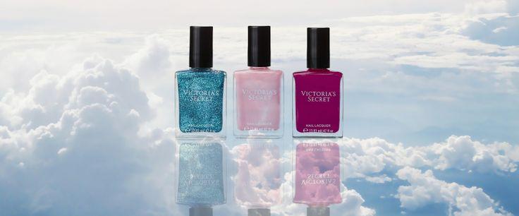 Victoria's Secret Nail Polish #VS #VictoriasSecret #nailpolish #nails #clouds #summer #glitter #opaque #fashion  #makeup #beauty #cosmetic #retail #outlet