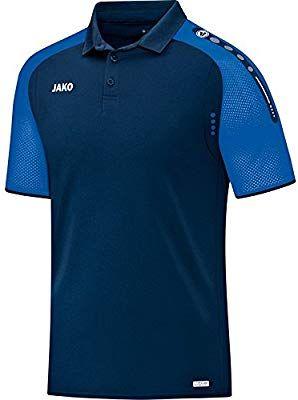 6bd074a4 JAKO Herren Polo Champ, Marine/royal, 3XL: Amazon.de: Sport ...