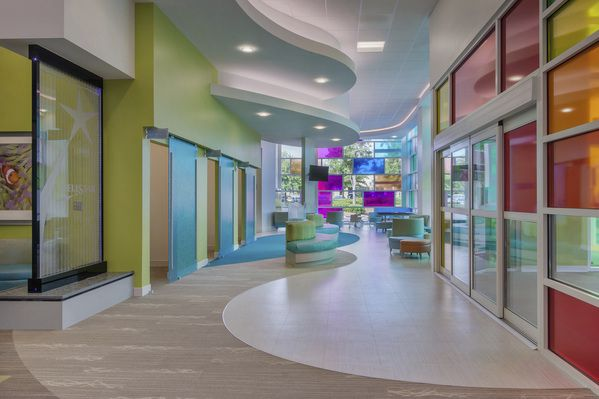 Pediatric Health Care Center Health Wellness Design Pediatrics Design